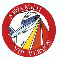 AUTOCOLLANT ADHÉSIF STICKER HÉLICOPTERE A 109 A 109A MK II VIP VERSION GRUPPO AGUSTA WESTLAND - Helicopters