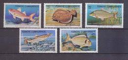 Turquie (Turkey) - 100 - N° 2138/42 Poissons (Fish Poisson Fishes) Neuf ** Mnh COTE 15 - Fishes