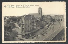 +++ CPA - DE PANNE - Avenue De La Mer Et Avenue Bortier  // - De Panne
