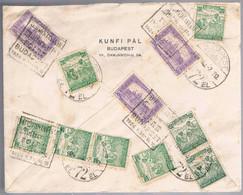 Hungria, 1924, Budapest-Breslau - Lettres & Documents