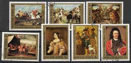 UNGHERIA 1976  FERENC II RAKOCZI YVERT. 2491-2497 USATA VF - Used Stamps