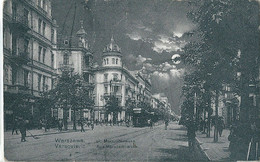 WARSZAWA   (  Varsovie ,  Pologne  )   Rue  Marszalkowska    -   Vendue En L'état   - - Polonia