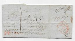 Lettre Locale D'ANGERS P/ ANGERS 1813 Verso Essai Cachet Arrivé ANGER 10 Jer. - 1801-1848: Precursors XIX