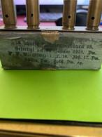 Boite  CARTOUCHES ALLEMANDES 9mm Ww1 1917 Luger Neutralisées - Armas De Colección