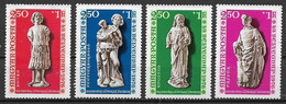UNGHERIA 1976  GIORNATA DEL FRANCOBOLLO YVERT. 2510-2513 MNH XF - Used Stamps
