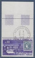 Centenaire De L'émission De Bordeaux N°1659 Oblitéré 65 Argelés Gazost 9.11.1970 Avec Bord De Feuille - Used Stamps