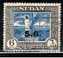 SOUDAN 12 // YVERT 96 (SERVICE) // 1951 - Sudan (1954-...)