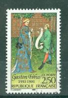 FRANCE - N° 2708 Oblitéré - Sixième Centenaire De La Mort De Gaston Fébus (1331-1391) - Gebruikt