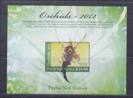 Papua New Guinea 2012 Orchids S/S MNH - Papua New Guinea