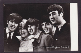 CPSM Beatles Non Circulé Marlène Dietrich - Entertainers