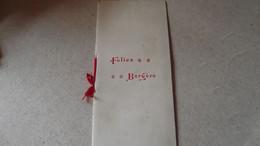 FOLIES -BERGERE, Programme Du Samedi 20 Septembre 1902 - Programas