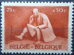 N°705 15 Point Au Dessus De Be De Belgie Mnh** - Abarten (Katalog Luppi)