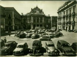 CATANIA - PIAZZA BELINI E TEATRO MASSIMO - EDIZIONE VITRO' - SPEDITA 1957 (BG6331) - Catania