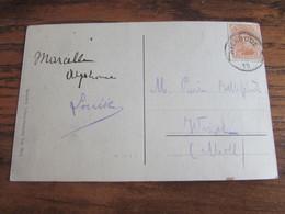 FORTUNE De 18-19: Carte Vue De Averbode Oblitérée AVERBODE (CENTRE VIDE) - Fortuna (1919)