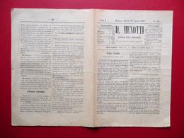 Il Menotti Giornale Per La Democrazia Anno I Numero 101 Modena 24/8/1859 - Livres, BD, Revues