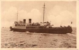 """Oostende Maalboot """"Prince Charles"""" Ostende La Malle, Ostend The Mailboat """"Prince Charles"""" Postschiff Ostende - Oostende"""