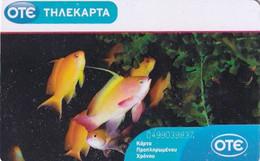 GREECE(chip) - Underwater, Fish, Tirage 70000, 02/10, Used - Greece