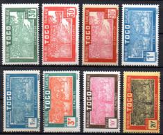 Col17  Colonie Togo  N° 144 à 151 Neuf X MH Cote  12,50€ - Unused Stamps