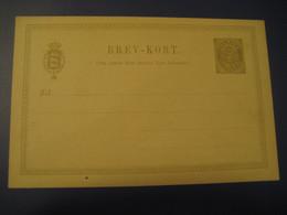 3 Ore Brev-Kort Statsbanedriften Postal Stationery Card DENMARK - Interi Postali