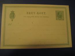 5 Ore Brev-Kort De Danske Statsbaner Postal Stationery Card DENMARK - Interi Postali