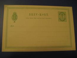 5 Ore Brev-Kort Statsbanedriften Postal Stationery Card DENMARK - Interi Postali