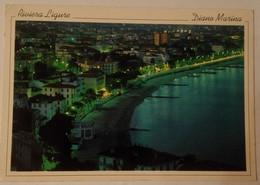 Diano Marina - Notturno Da Capo Berta - Formato Grande Viaggiata – E 17 - Imperia