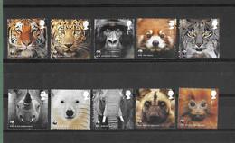 WWF, Protection De La Nature : Timbres Oblitérés En L'état - 2011 - 1952-.... (Elizabeth II)