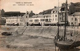 Carte Postale Ancienne - Circulé - Dép. 35 - CANCALE - Les Quais - Cancale