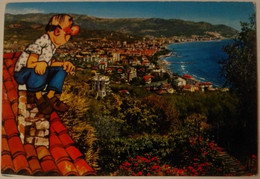 Diano Marina - Panorama Dalle Alture Di Capo Berta - Formato Grande Viaggiata – E 17 - Imperia