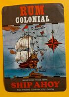 15911 - Rum Colonial Ship Ahoy Rum Trading Company London - Rhum