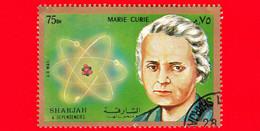 SHARJAH - Nuovo Oblit. - 1972 - Persone Famose - Marie Skłodowska Curie (1867-1934), Chimica E Fisica Polacca - 75 - Schardscha