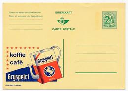 """BELGIQUE => Carte Postale - 2F50 Publicité """"Koffie Café GRYSPEIRT"""" - Publibel N°2400 NF - Publibels"""