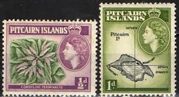 PITCAIRN ISLANDS - 1957 - EFFIGIE DELLA REGINA ELISABETTA IN UN OVALE - MH - Stamps