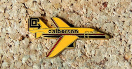 Pin's AVION - Compagnie Aérienne Marchandises CALBERSON - EMAIL - Fabricant ASIE - Aerei