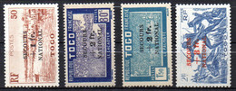 Col17  Colonie Togo  N° 211 à 214 Neuf XX MNH & X MH Cote  50,00€ - Unused Stamps
