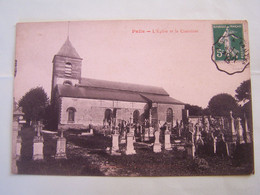 """PALIS (AUBE) L'EGLISE ET LE CIMETIERE. 100_0263""""b"""" - Autres Communes"""