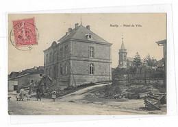 CPA  55    MEUSE    SOUILLY    HOTEL  DE  VILLE - Frankrijk