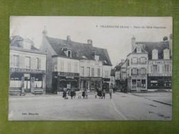 VILLENAUXE (Aube) - Place De L'Etre Franchise - Autres Communes