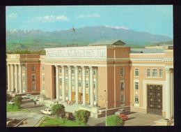 Tajikistan Dushanbe. Lenin Square AEROFLOT - Tadjikistan