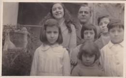 ÉTUDIANTS DE L'ÉCOLE DE LA VILLA GIJÓN. ENFANTS NIÑOS CHILDREN. ANNEE 1931. PHOTO CPA, VOYAGEE -LILHU - Groupes D'enfants & Familles