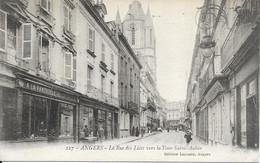 ANGERS LA RUE DES LICES VERS LA TOUR SAINT-AUBIN - Angers