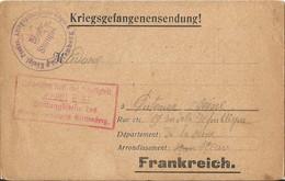 CARTE EN FRANCHISE MILITAIRE  /  Envoi  Du  Camp  De Prisonniers  De  WITTENBERG  ( ALLEMAGNE ) /  Cachets  Militaires - FM-Karten (Militärpost)