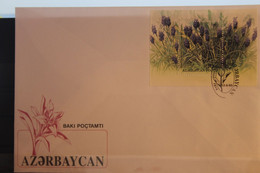 Blumen; Block 2, 1993, FDC - Azerbaïjan