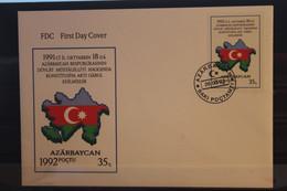 Unabhängigkeit, MiNr. 69; 1992,  FDC - Azerbaïjan