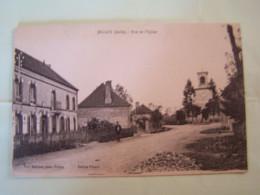 """JEUGNY (AUBE) LES COMMERCES. RUE DE L'EGLISE. 100_0269""""b"""" - Autres Communes"""