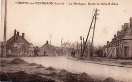 ° Nogent Sur Vernisson - La Montagne , Route De Paris-Antibes - Other Municipalities