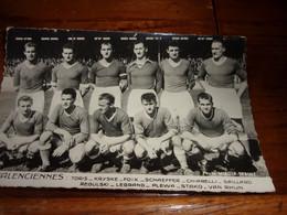 PHOTO CARTONNEE MIROIR SPRINT équipe De Football De VALENCIENNES 1952/1958 - Soccer