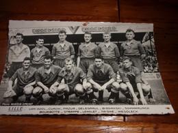 équipe De Football De LILLE Années 50/60 - Soccer