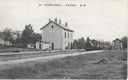 36  - Cluis - Train En Gare - Carte Inédite ! - Ligne D'Argenton-sur-Creuse à La Chaussée (La Chatre) - Rare éditeur ! - Sonstige Gemeinden
