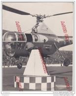 Au Plus Rapide Très Beau Plan Hélicoptère Datée 1 Octobre 1947 Britsh Européen Airwayy Photography - Aviazione